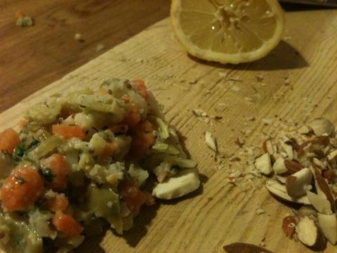 Remoulade-agtige grøntsager
