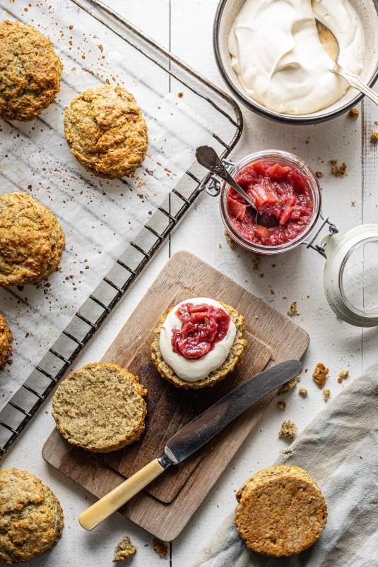 Fuldkornsscones - scones af fuldkorn