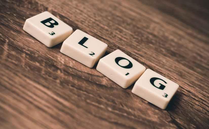 Blogi scrabble-kirjainlaatat