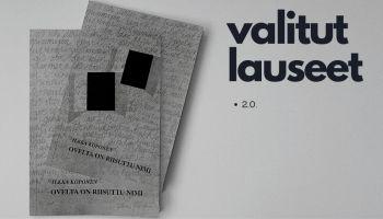 Ilkka Koponen: Ovelta on riisuttu nimi -runokokoelma