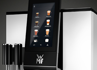 WMF 1100s Intuitive touch interface