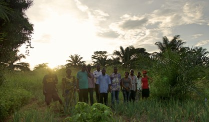 Kaffebønder i Congo