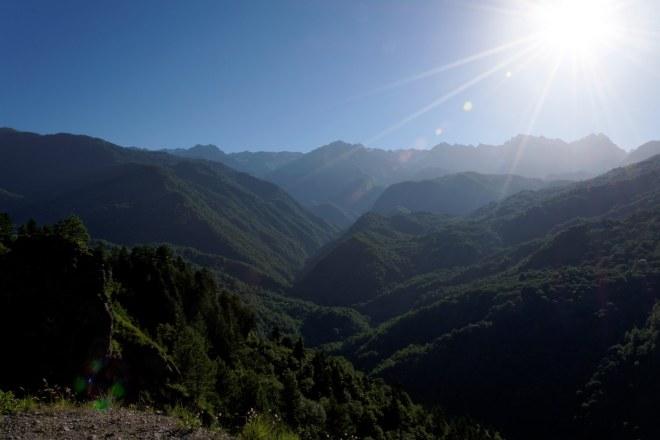 W drodze z Kutaisi do Mestii