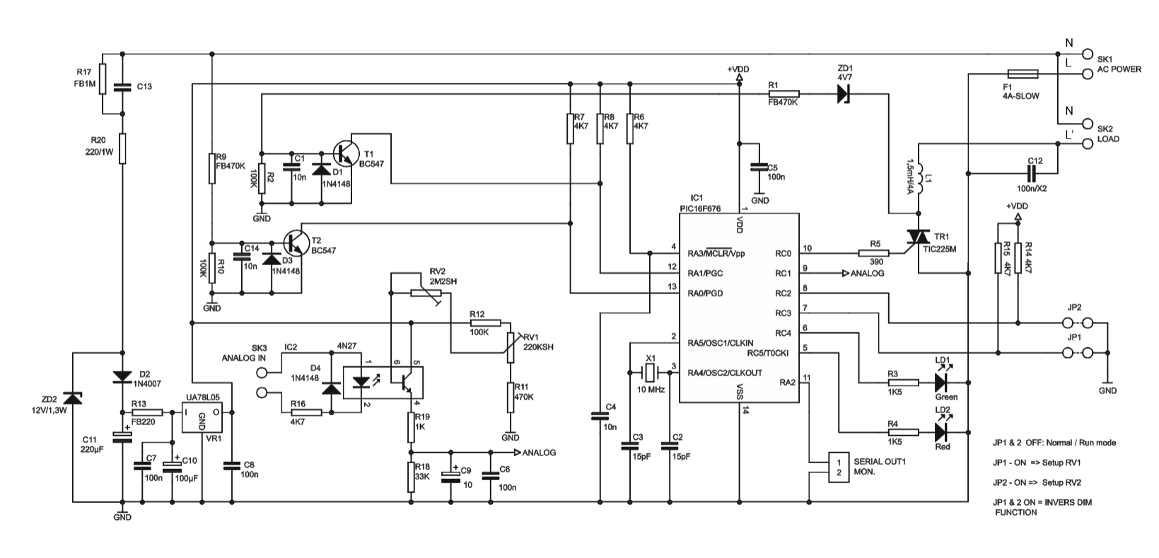 Suche 230v Dimmer Kaufteil Mit Interface Fur C
