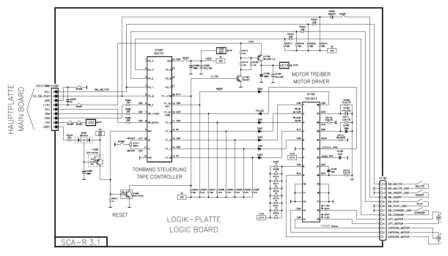 Blaupunkt Gamma Kassettenlaufwerk Entfernen