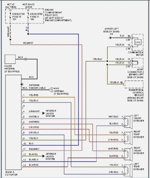 8445 eclipse radio wiring diagram  switch wiring diagram uk