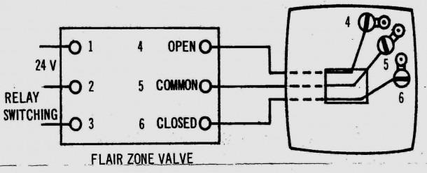 diagram honeywell zone control valve wiring diagram