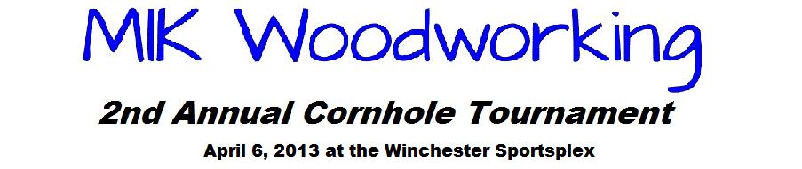 MIK WOodworking Cornhole