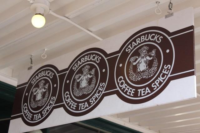 Primeiro logo da Starbucks