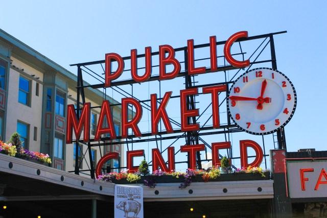 Pike Place Market em Seattle