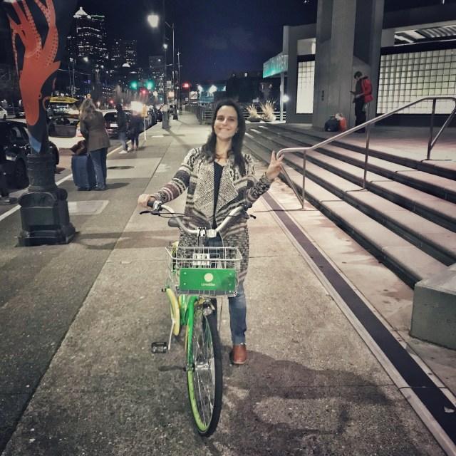 aluguel de bicicletas em Seattle