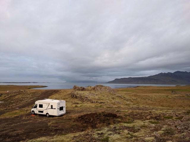 Campings na Islândia e Aluguel de Motorhome