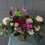 roses-lisianthus-zinnia-arrangement