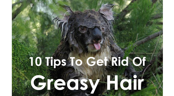 how to get rid of greasy hair overnight