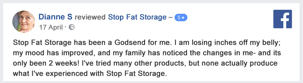 Stop Fat Storage Customer Reviews