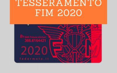 Moto Club Milani – Tesseramento FMI 2020
