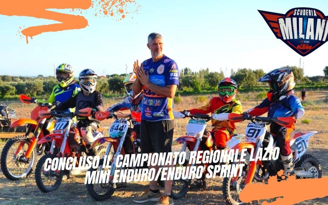 Concluso il campionato regionale Lazio di mini Enduro/Enduro sprint