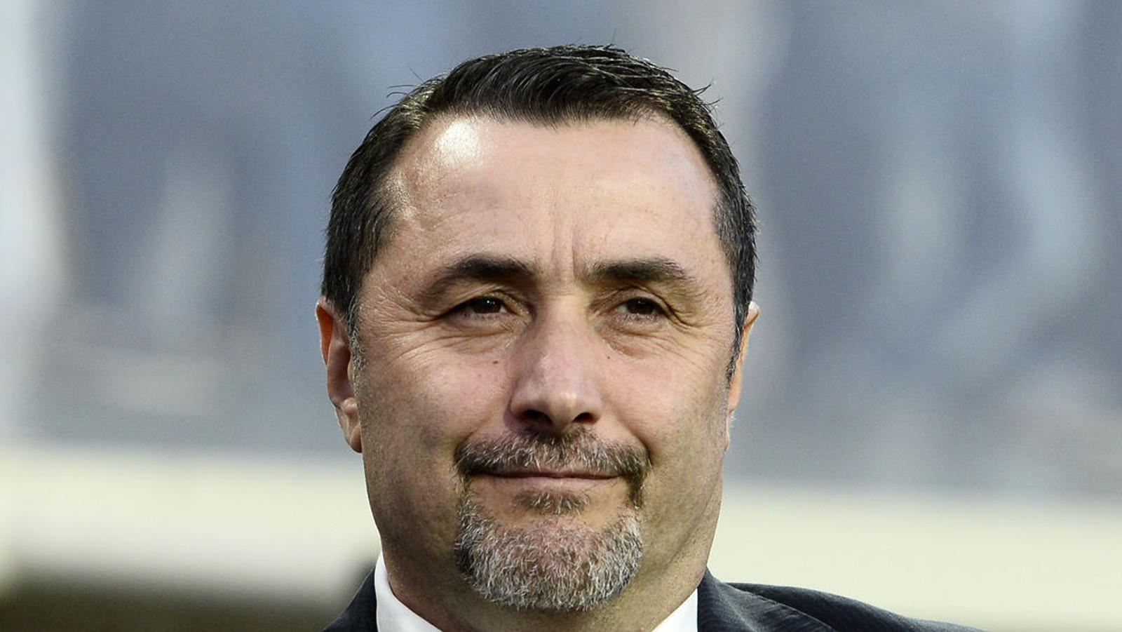 Il direttore sportivo del Milan Massimiliano Mirabelli