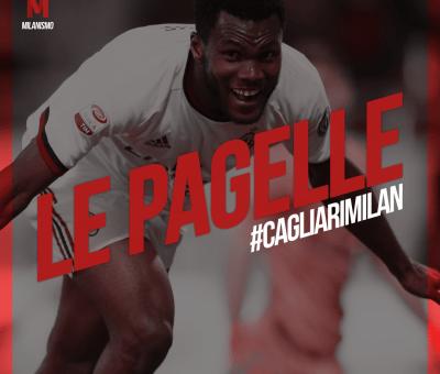 Le pagelle di Cagliari-Milan, 21esima giornata di A terminata sul risultato di 1-2