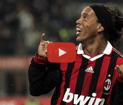Esattamente a otto anni di distanza, e nel giorno del suo addio al calcio giocato, riviviamo la fantastica tripletta di Ronaldinho in Milan-Siena del 17 gennaio 2010