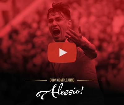 Un video speciale per festeggiare il 23esimo compleanno di Alessio Romagnoli