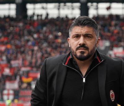 Mister Rino Gattuso, allenatore del Milan