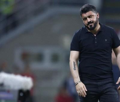 L'allenatore del Milan, Gennaro Gattuso