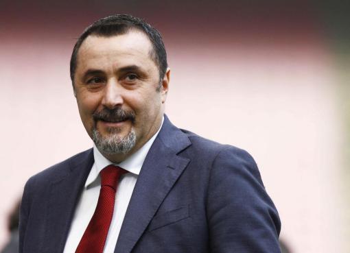 Il direttore sportivo del Milan, Massimiliano Mirabelli