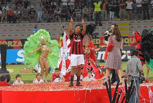 Ronaldinho a SanSiro