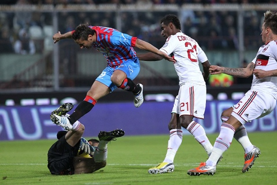 Catania- Milan 1-3 le immagini @TM-News infophoto