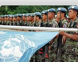 i caschi blu dell'ONU