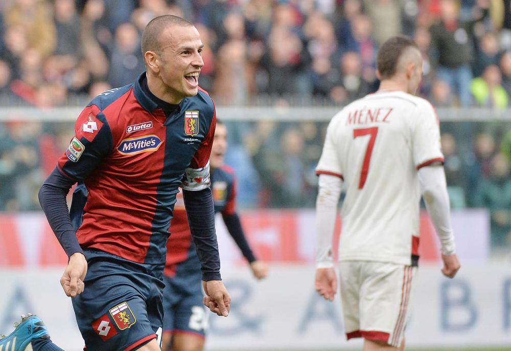 Soccer: Serie A: Genoa-Milan