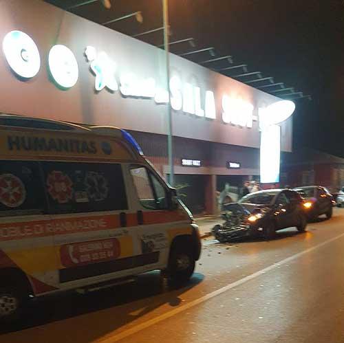 Ambulanza con le 4 frecce: erano a giocare alle slot