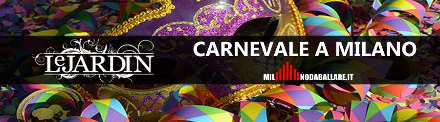 Le Jardin Milano Carnevale 2018