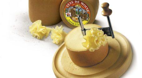 Un fior fiore di formaggio, il Tête de Moine