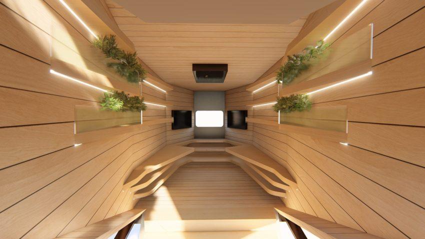 Installazione di Rubner Haus SpaceShip in Zona Santambrogio