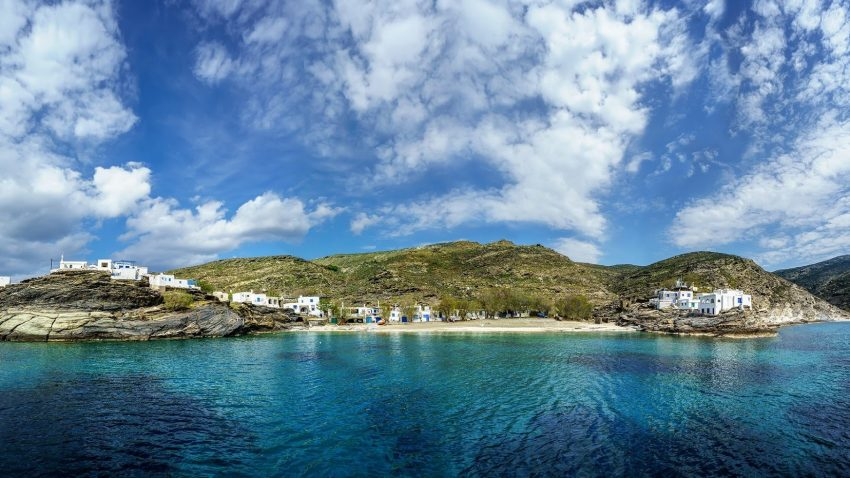 L'isola di Tinos, nell'arcipelago delle Cicladi