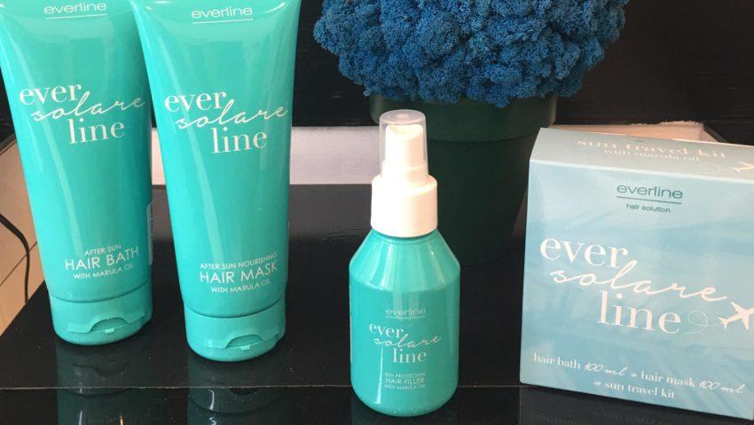 I prodotti Everline per i capelli