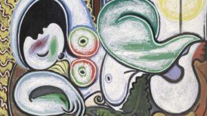 """Pablo Picasso, """"Nudo sdraiato"""""""