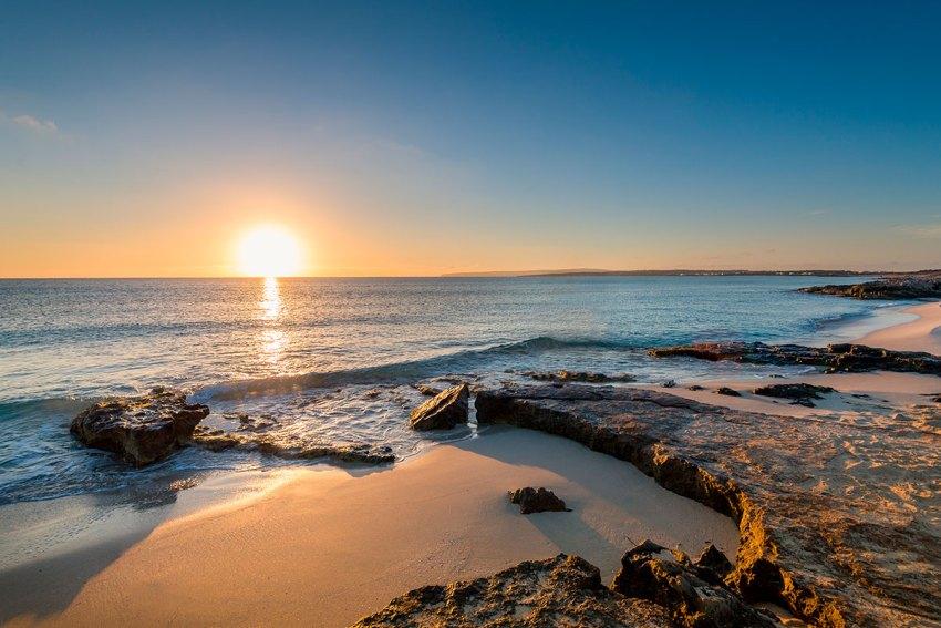 Puesta de sol a Formentera
