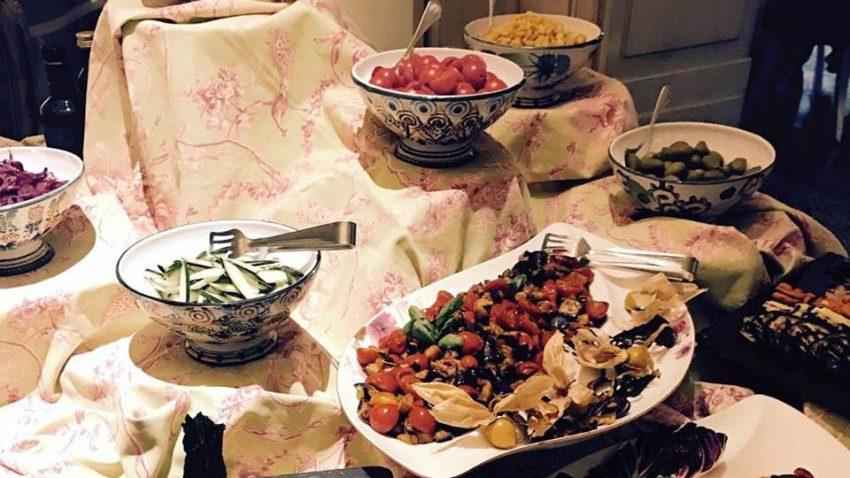 Da Château Monfort gli ingredienti per i piatti sono scelti in basi a un rigido criterio di stagionalità