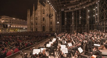 Concerto per l'Italia 2020: Filarmonica della Scala in piazza Duomo