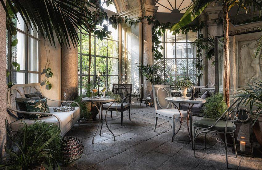 Gli eleganti spazi interni di LùBar, GAM Milano