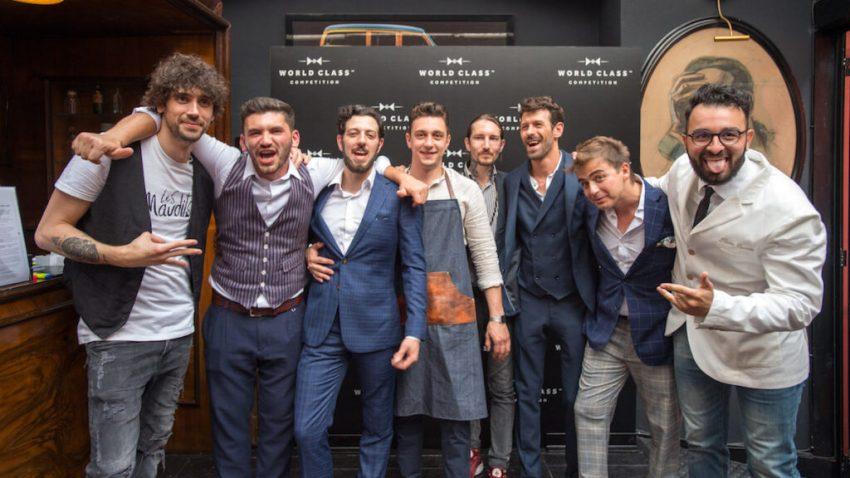 Alla finale italiana che si è svolta a Milano si sono presentati in otto, dai quali sono usciti i tre finalisti che si sono affrontati nell'ultima prova