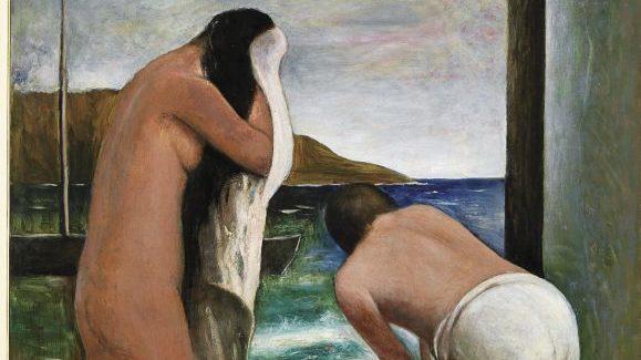 Carlo Carrà, Estate, olio su tela