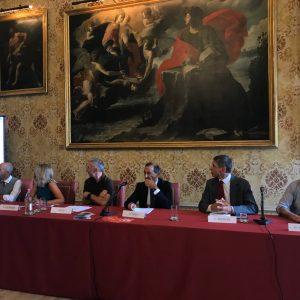 Conferenza stampa a Palazzo Marino per Milano Bike City