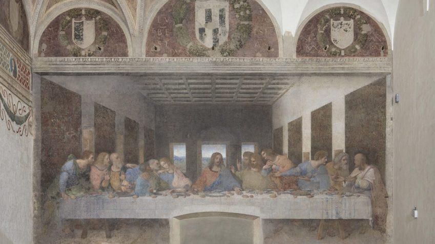 Il cenacolo vinciano, Santa Maria delle Grazie