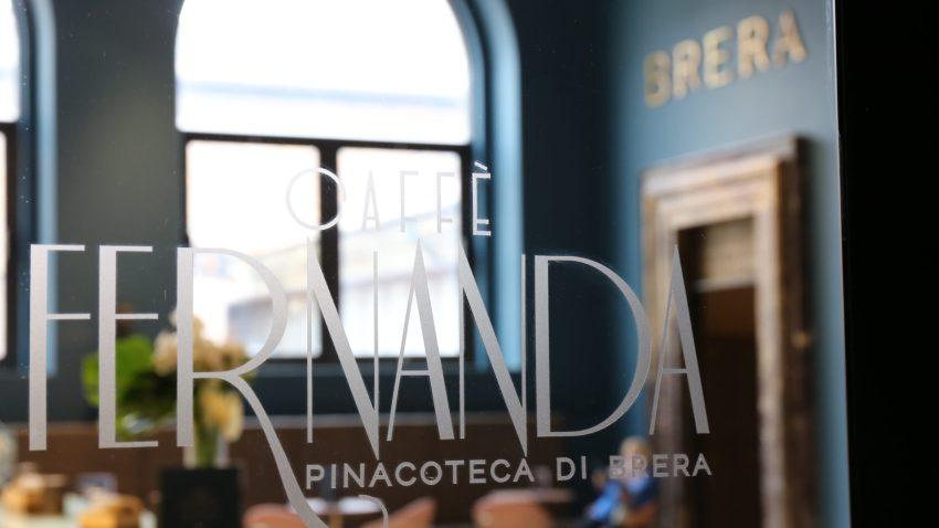 Pinacoteca di Brera, Caffe Fernanda