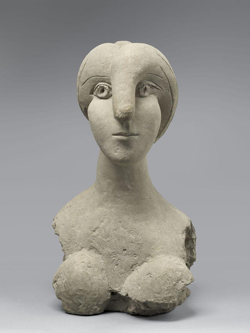 Picasso, Busto di donna. Paris, Musée National Picasso