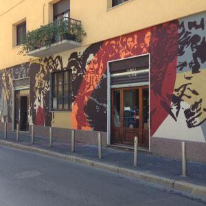 Street art di Taglieri a Milano